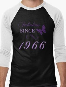 Fabulous Since 1966 Men's Baseball ¾ T-Shirt