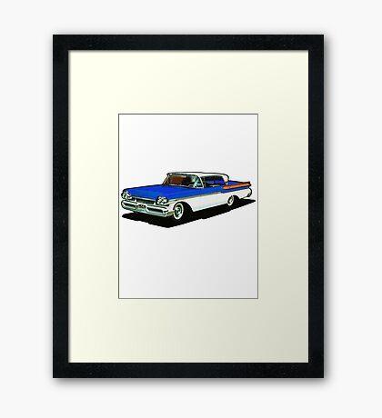 1957 Mercury Cruiser Framed Print