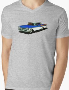 1957 Mercury Cruiser Mens V-Neck T-Shirt