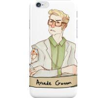 Arcade Gannon iPhone Case/Skin