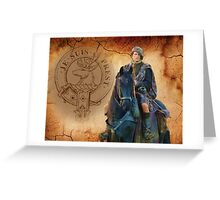 Outlander/Jamie Fraser Greeting Card