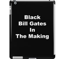 Black bill gates in the making iPad Case/Skin