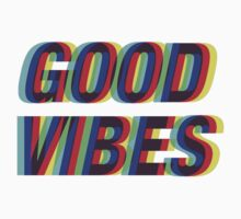 Good Vibes Trippy One Piece - Long Sleeve