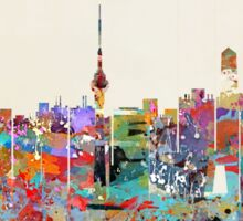 Beijing city skyline Sticker