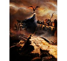 The Dragon Slayer Photographic Print