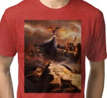 The Dragon Slayer Tri-blend T-Shirt
