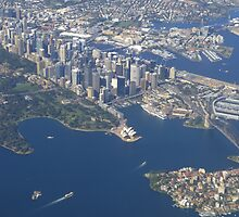 I picked a great day to fly into Sydney! by PhotosByG