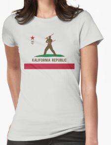 Kalifornia Republic Kali Silat Filipino Martial Arts Womens Fitted T-Shirt