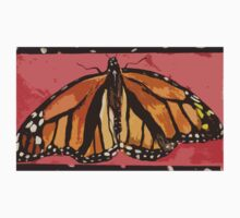 Butterfly  One Piece - Short Sleeve