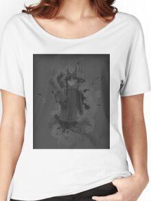 Clara Oswald Splatter Women's Relaxed Fit T-Shirt