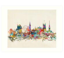 Sheffield city skyline Art Print