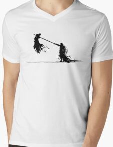 Cloud vs Sephiroth Mens V-Neck T-Shirt