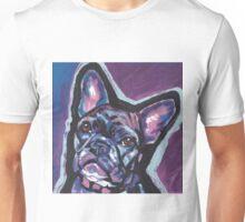 French Bulldog Dog Bright colorful pop dog art Unisex T-Shirt