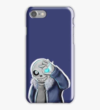 Sans - Bad Time iPhone Case/Skin