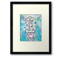 To Have and to Hold by Jan Marvin Framed Print