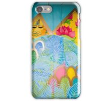 Tut and Brazilian Flower  iPhone Case/Skin
