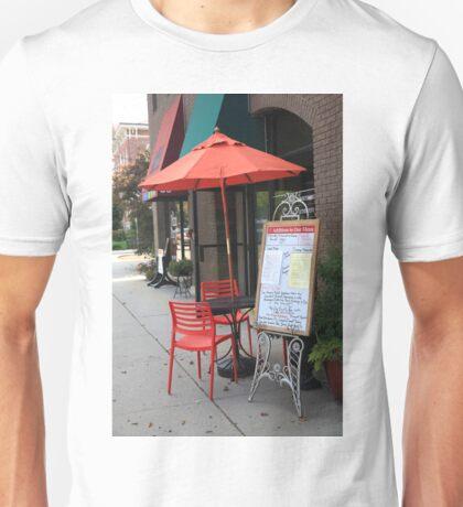 Flemington, NJ - Sidewalk Cafe Unisex T-Shirt