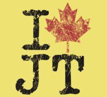 I Love Justin Trudeau Kids Tee
