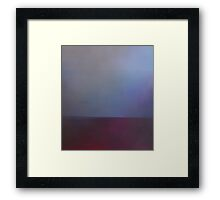 Alum Strata Framed Print