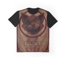 Foxy Poster Graphic T-Shirt