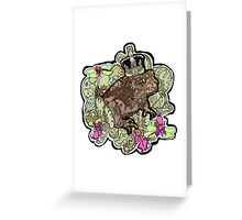 King Toad I Greeting Card
