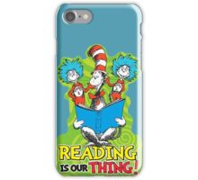 Dr Seuss Reading Quote iPhone Case/Skin