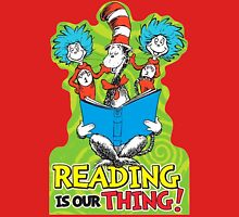 Dr Seuss Reading Quote Unisex T-Shirt