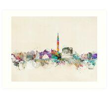venice italy skyline Art Print
