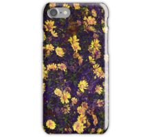 Cool, unique modern nature daisy floral pattern art design iPhone Case/Skin