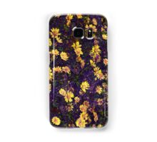 Cool, unique modern nature daisy floral pattern art design Samsung Galaxy Case/Skin