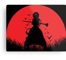 Aladdin Red Moon Magi Metal Print