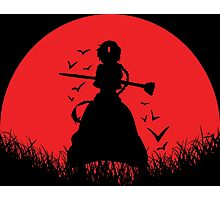 Aladdin Red Moon Magi Photographic Print