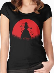 Aladdin Red Moon Magi Women's Fitted Scoop T-Shirt