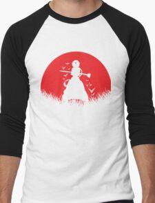 Aladdin Red Moon Magi Men's Baseball ¾ T-Shirt