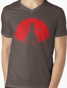 Aladdin Red Moon Magi Mens V-Neck T-Shirt
