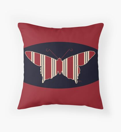Flying Butterties  Throw Pillow