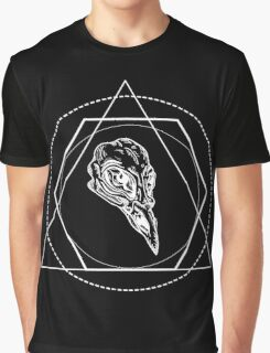 Geometric skull Graphic T-Shirt