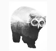 Owlbear in Mountains (Black & White) Unisex T-Shirt