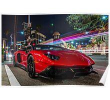 Not a Lamborghini Aventador 50th Anniversario Poster
