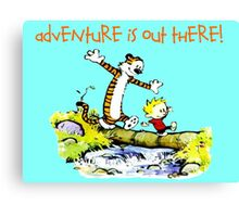 Calvin and Hobbes' Wonderful Adventure Canvas Print