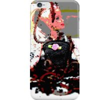barbie in worms  iPhone Case/Skin