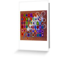 Abstract composition 427 Greeting Card