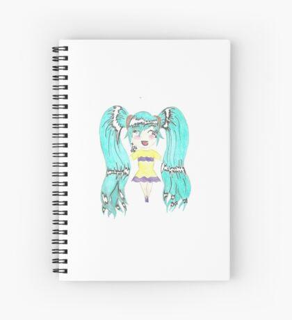 Tabitha- Chibi Anime Spiral Notebook
