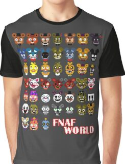 FNAF World Graphic T-Shirt