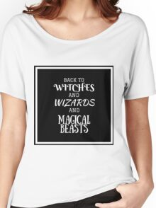 Get Back To Hogwarts Women's Relaxed Fit T-Shirt
