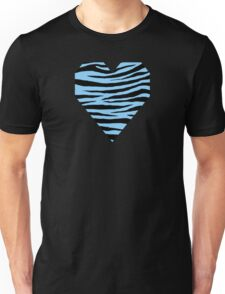 0378 Light Sky Blue Tiger Unisex T-Shirt