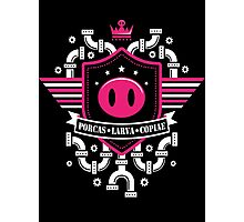 Pigmask Army Logo Photographic Print