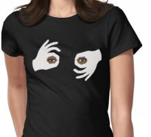 titi eyes Womens Fitted T-Shirt