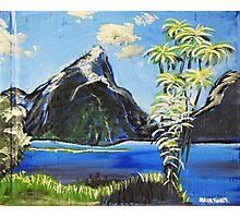 Mystery Island Photographic Print