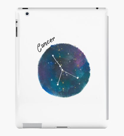 cancer galaxy  iPad Case/Skin